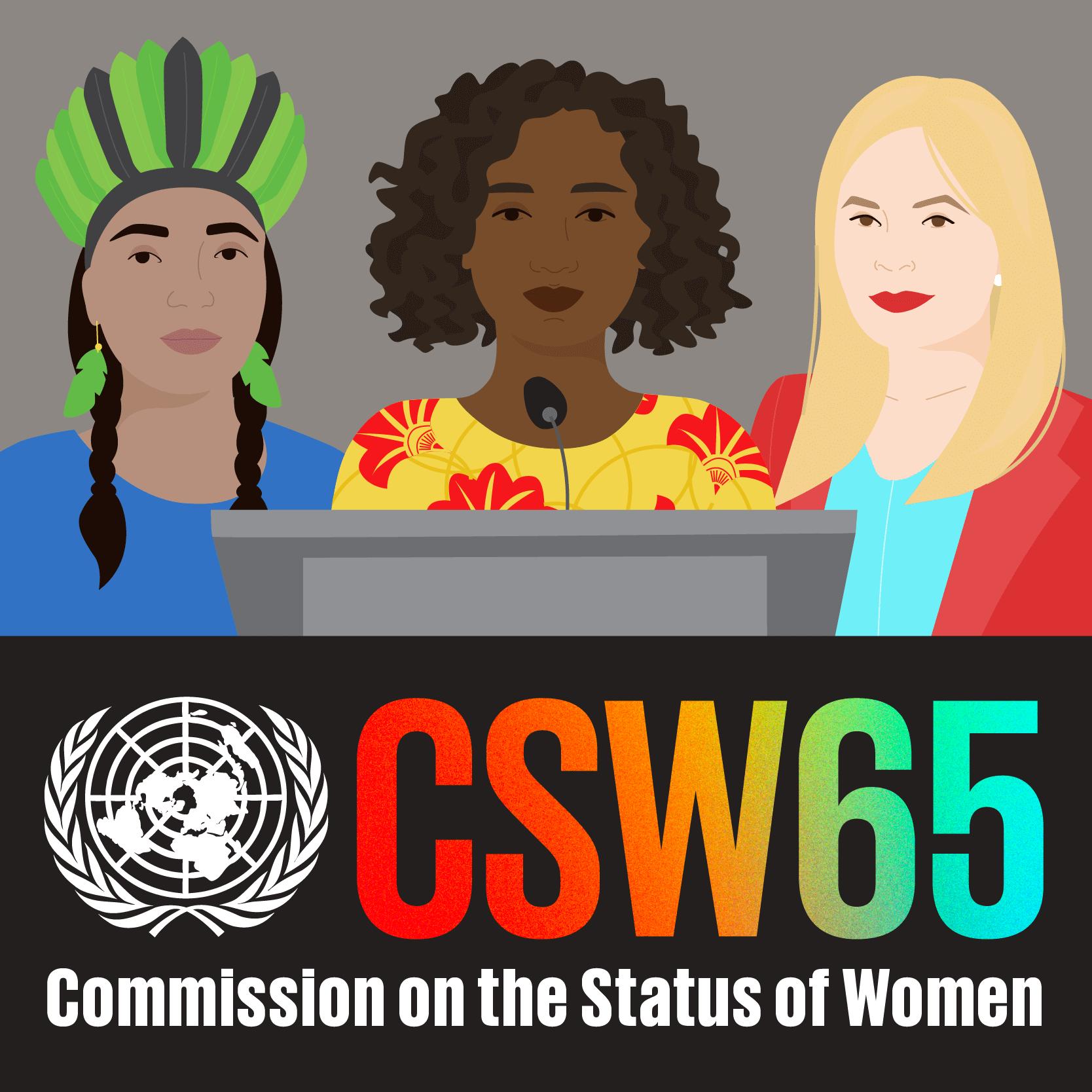 Le plaidoyer de la dynamique associative qui accompagne la CSW65