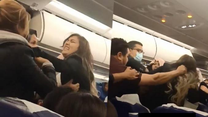 Vidéo : Une bagarre horrible à bord d'un avion Tunisair