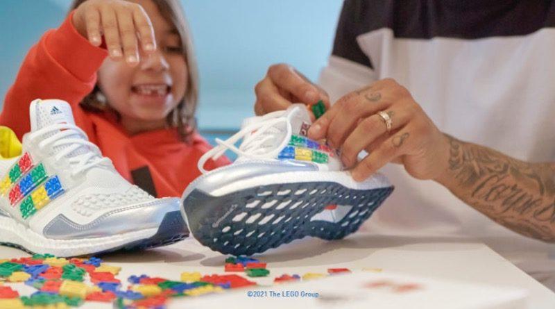 LEGO et Adidas collaborent pour proposer une chaussure très originale