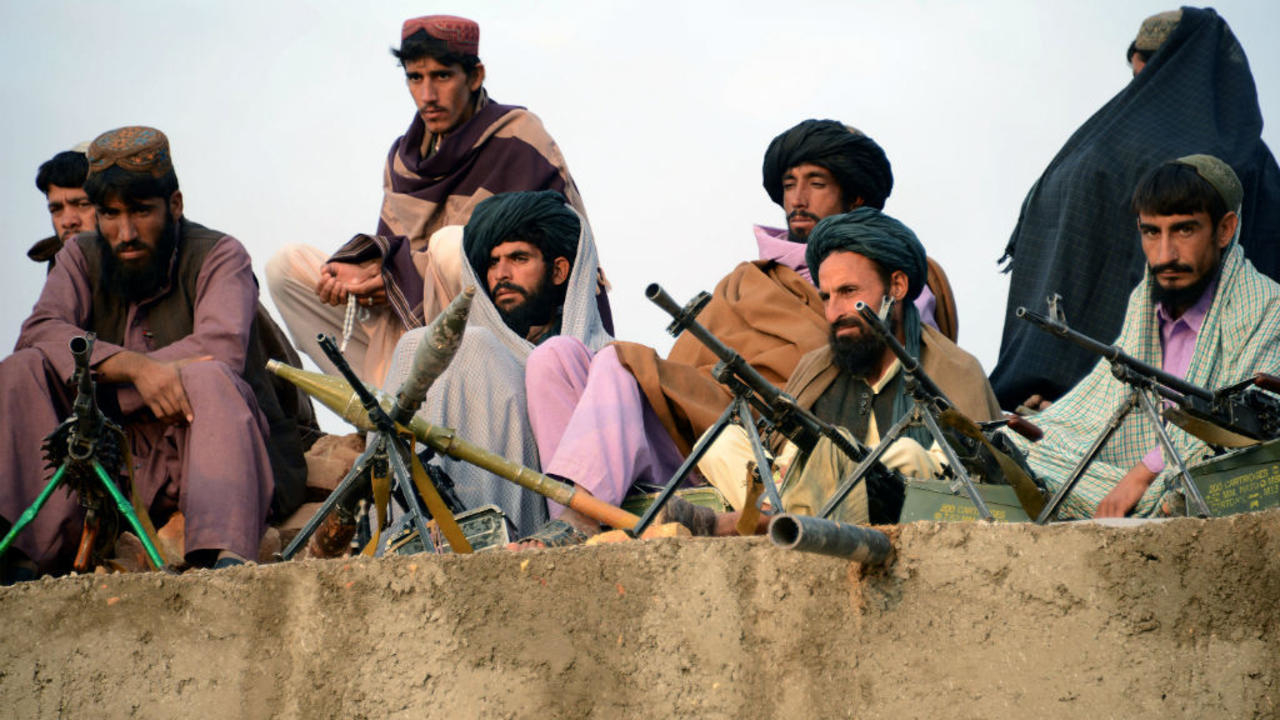 Talibans en attente du départ des Américains... Bien le bonjour chez-vous !