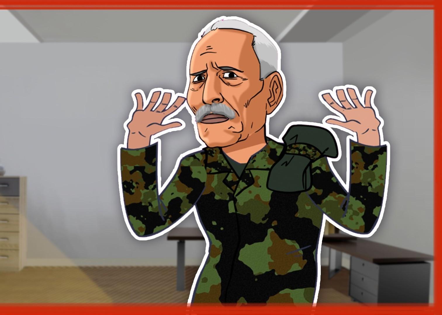 Wanted Brahim Ghali, tortionnaire, violeur (Caricature parue sur le 360.ma)