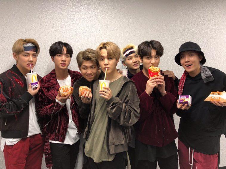 McDonald's va bientôt lancer un repas BTS