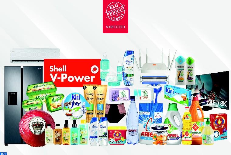 26 produits élus « Produit de l'Année » 2021 au Maroc