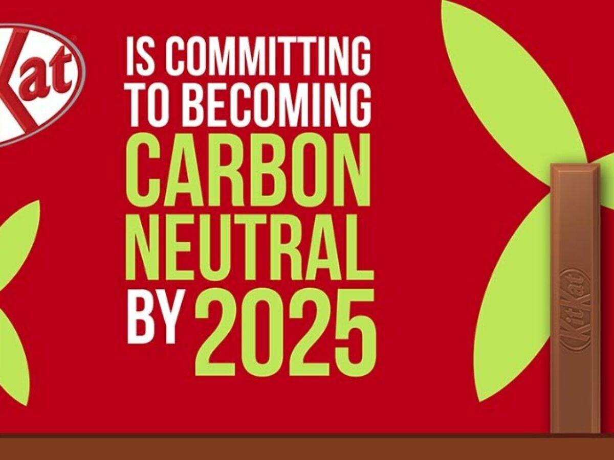 KitKat s'engage à devenir neutre en carbone d'ici 2025