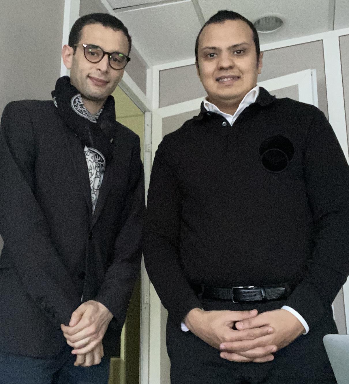 """Hamza Boulaiz, invité de l'émission """"Entre nous, on se dit tout"""""""