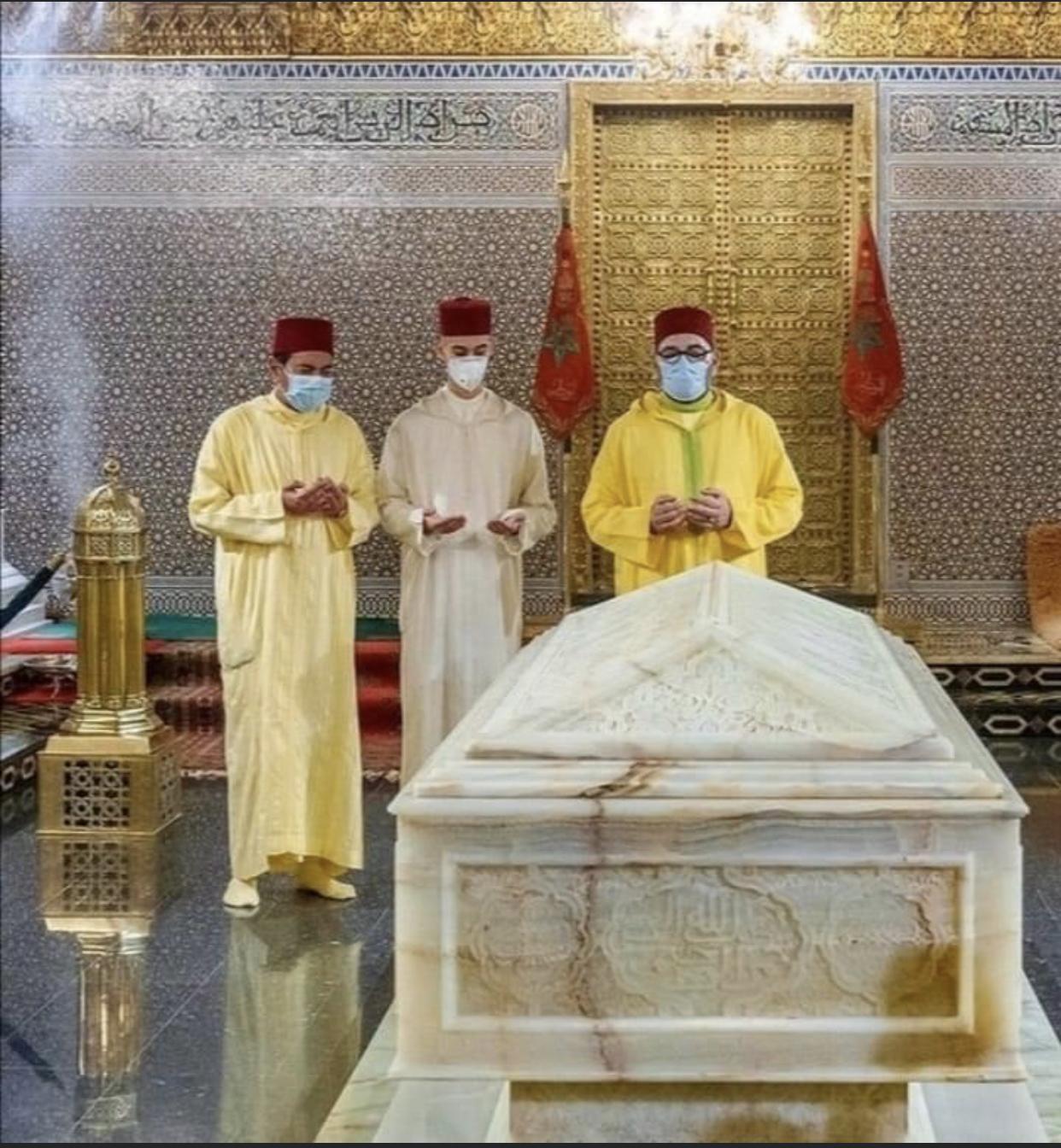 Feu SM Le Roi Mohammed V, un grand homme de principes