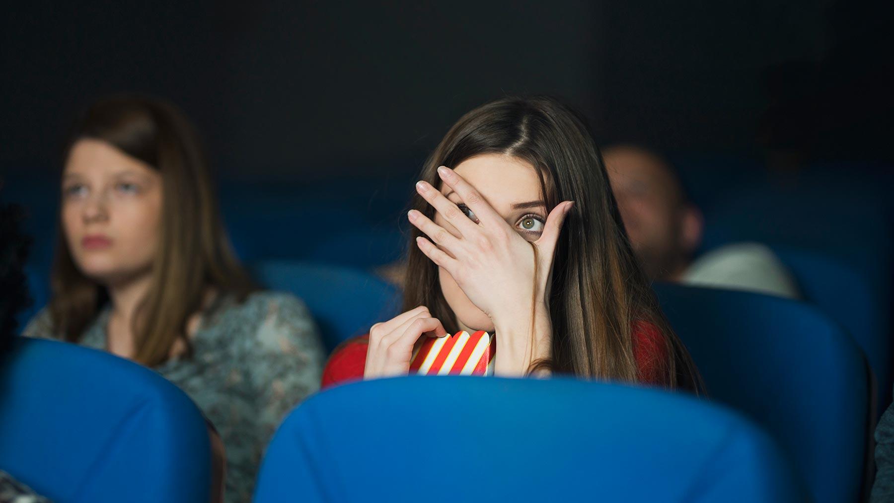 Maigrir en regardant des films d'horreur, c'est possible !