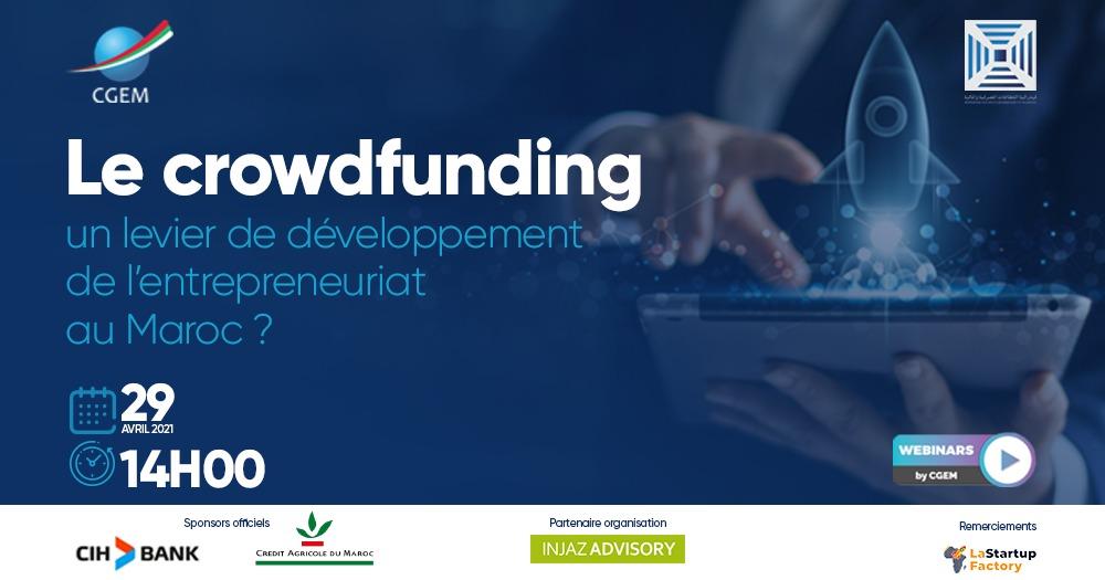La CGEM et la FSBF organisent un webinaire dédié au crowdfunding