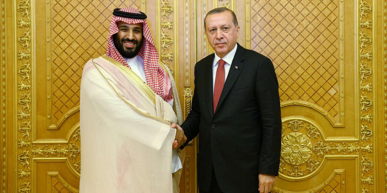Le prince MBS avec le président turc Erdogan : 'Je t'aime... moi non plus !'