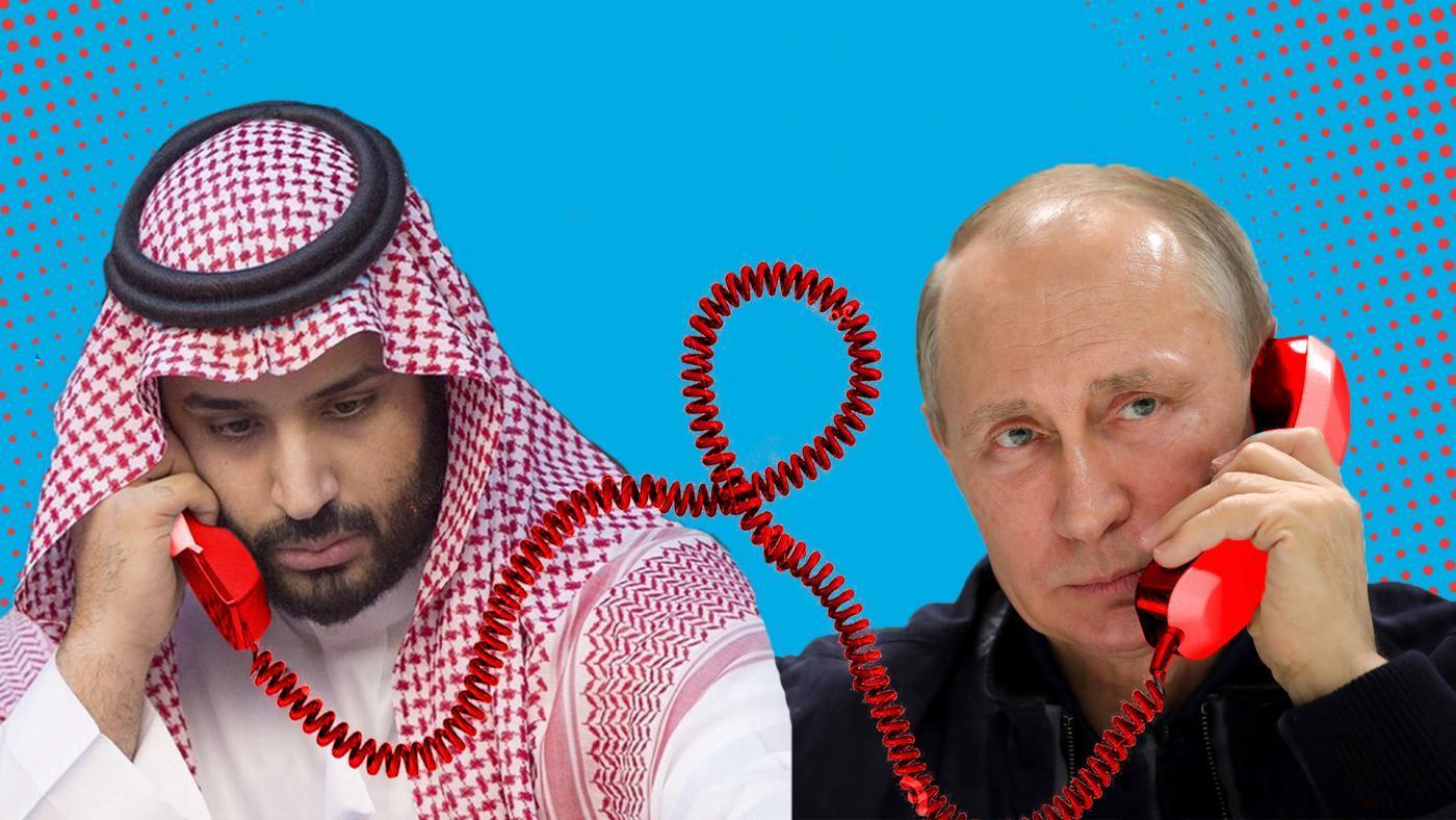 """""""Allô Vladimir, j'écoule moins de barils sur le marché et tu m'arranges l'affaire avec les Perses, ok ?"""""""