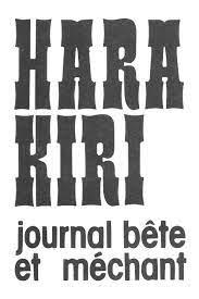 Quand Charlie Hebdo se faisait Hara-Kiri