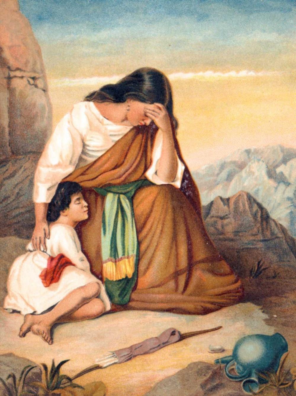 Hajar et son fils Ismaël, chassés par Sarah, n'en ont pas moins survécu et laissé une abondante descendance