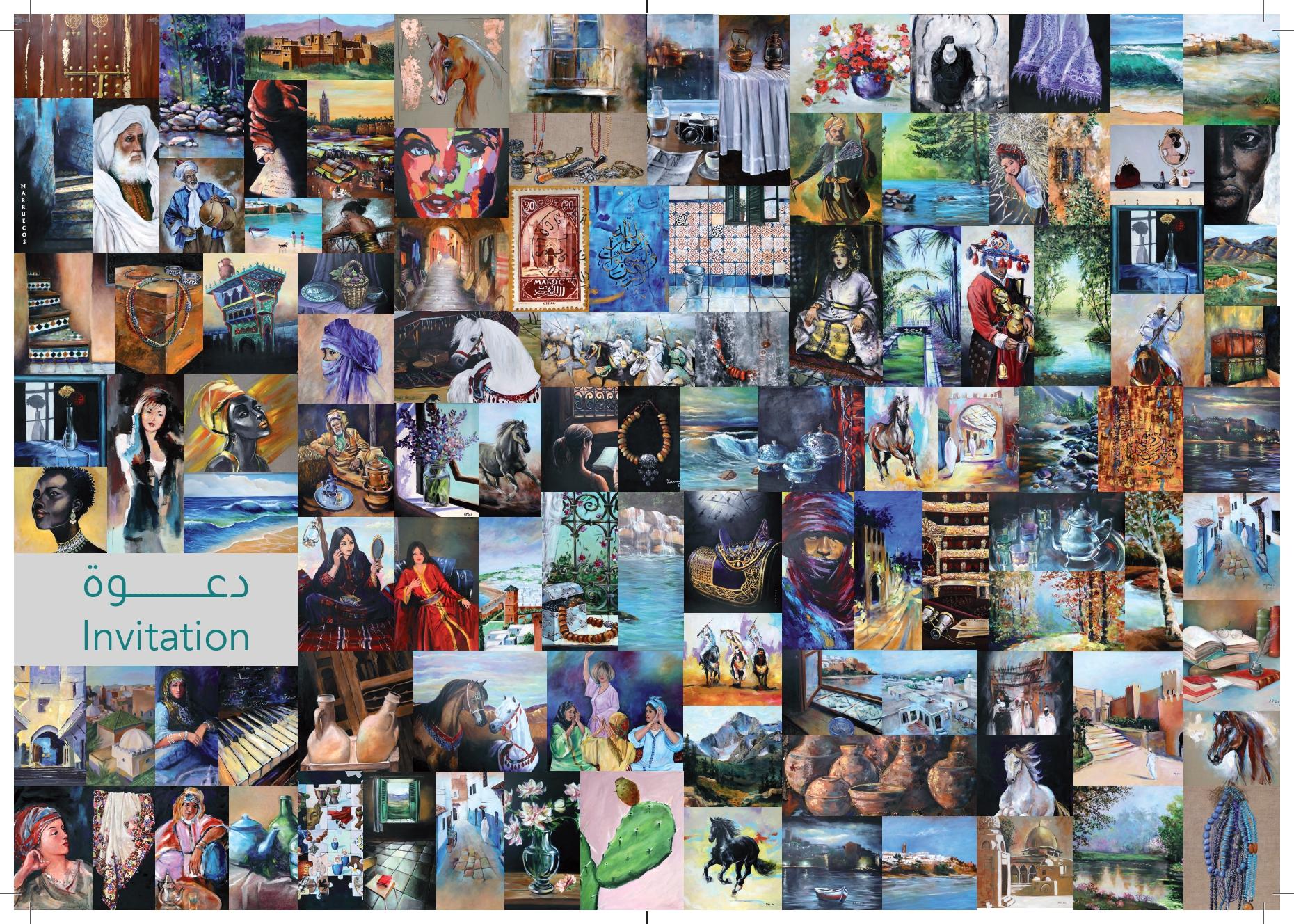 « Tableau d'espoir », une exposition organisée à la Galerie de l'ICESCO pour l'art contemporain