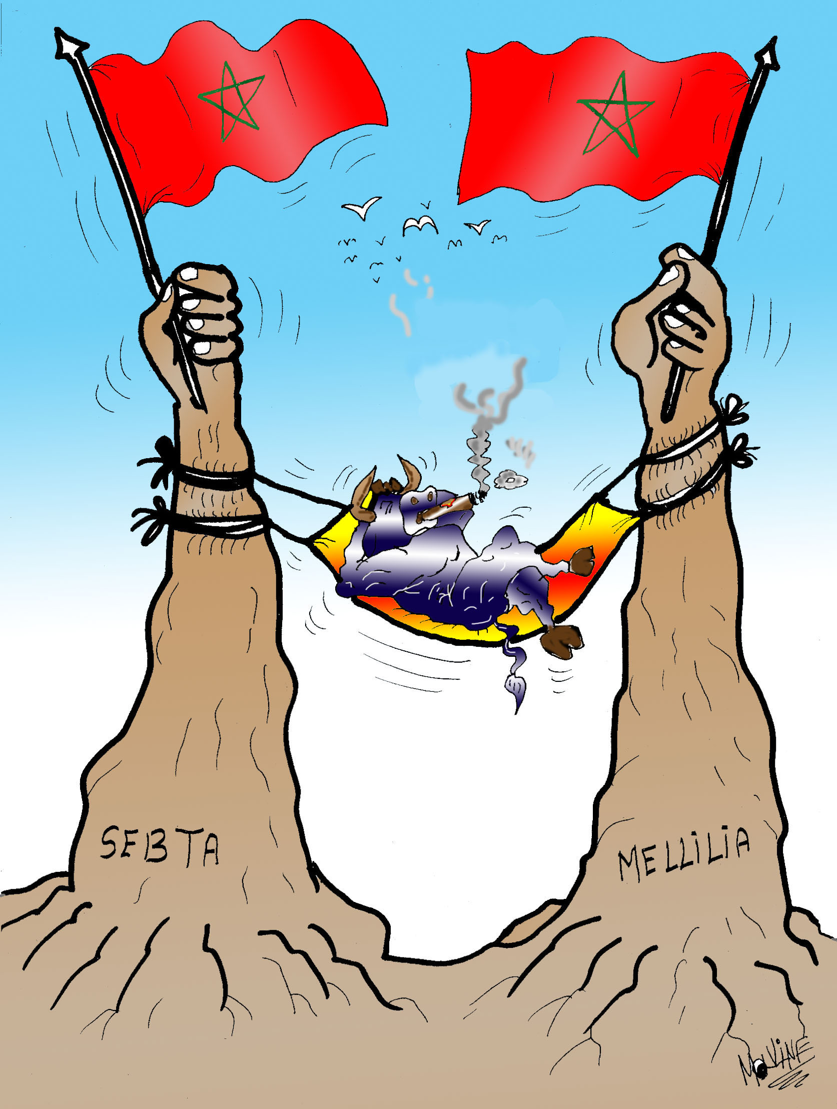 Hola Madrid : Sebta y Melililia son marroquíes