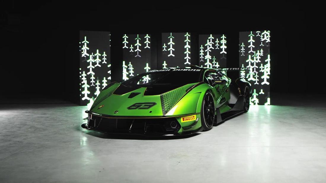 Un plan d'électrification extrême pour Lamborghini