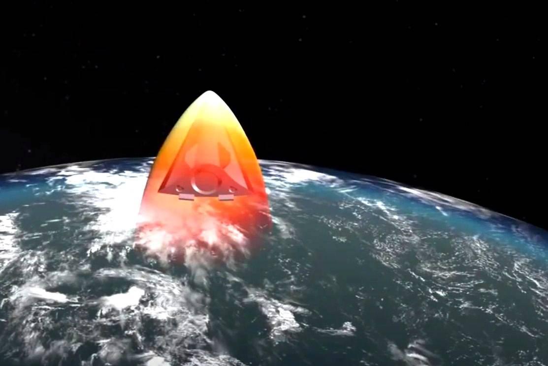 Missile hypersonique 'Avanguard' russe : il 'glisse' et peut virer de 90° à Mach20