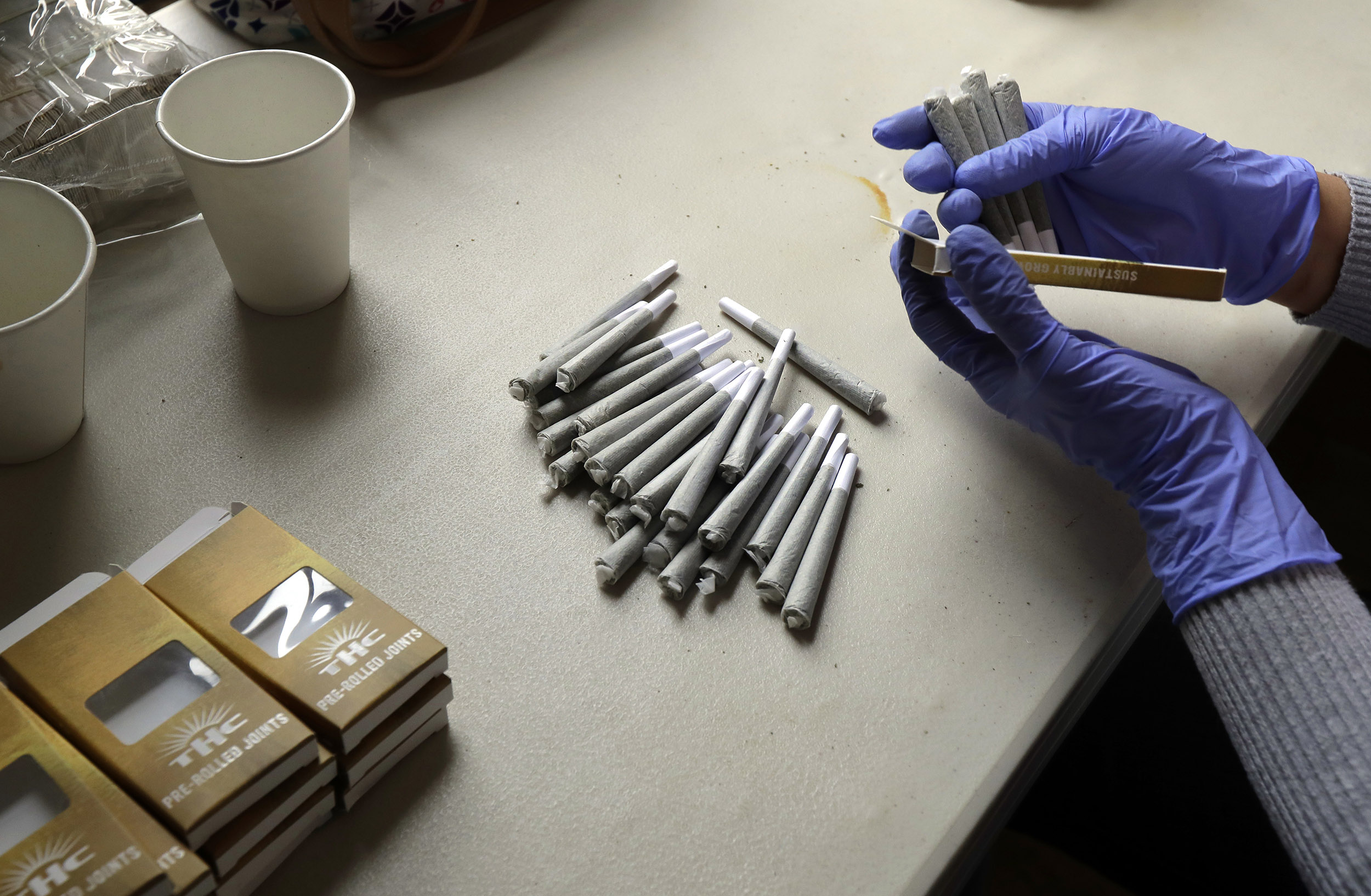USA : Un joint de marijuana contre une dose de vaccin