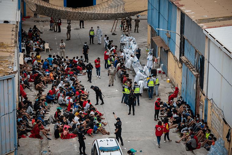 Réaction 'musclée' des autorités espagnoles lors des événements de mai 2021