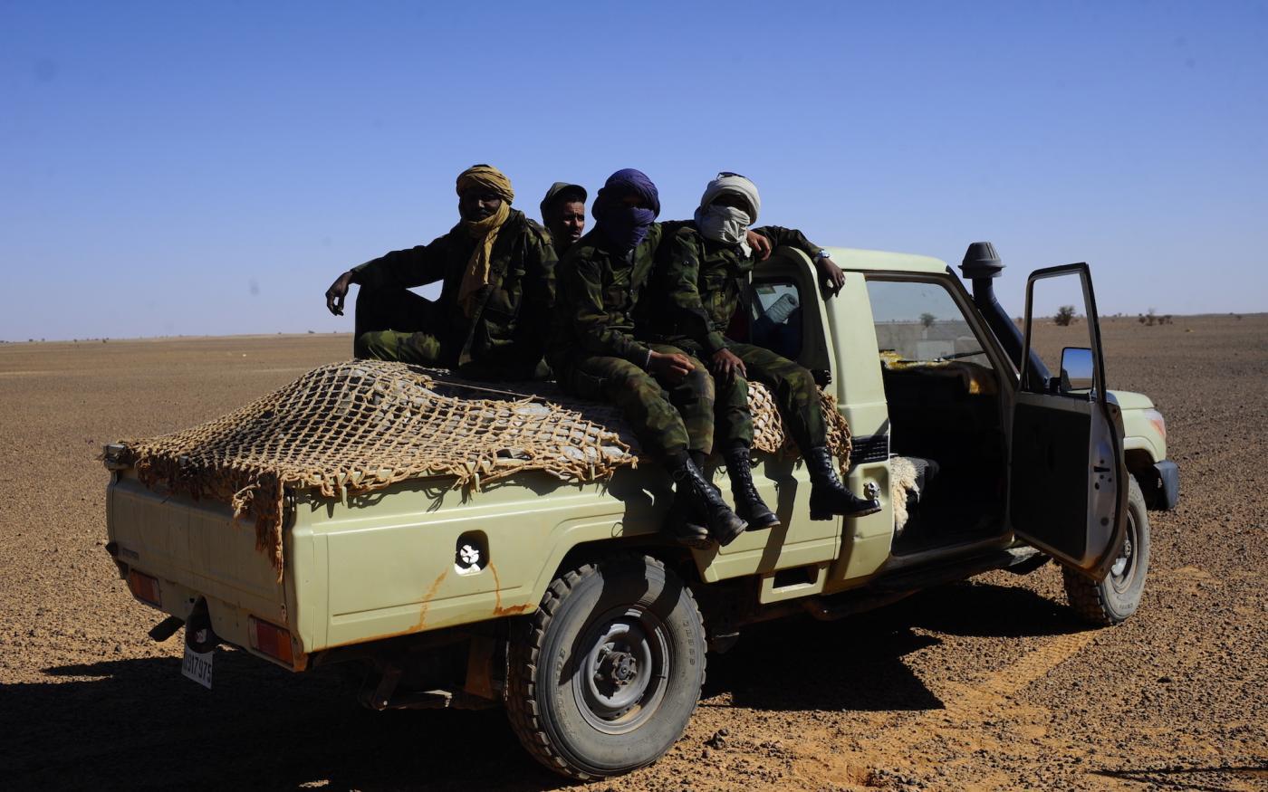 Miliciens du polisario en pick-up : ni la victoire, ni la mort... la fuite !