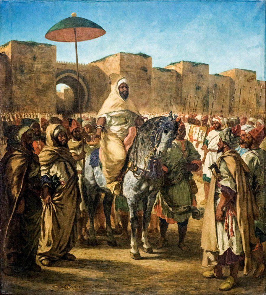 Le Musée Mohammed VI d'Art Moderne et Contemporain abrite l'exposition Eugène Delacroix