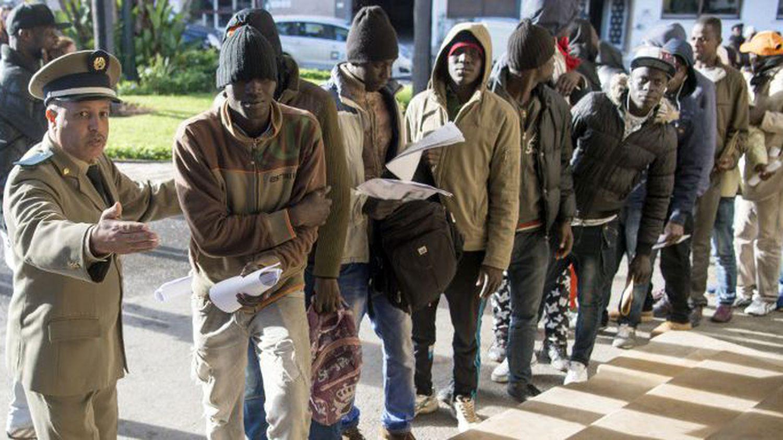 Immigrés subsahariens dans leurs démarches de régularisation