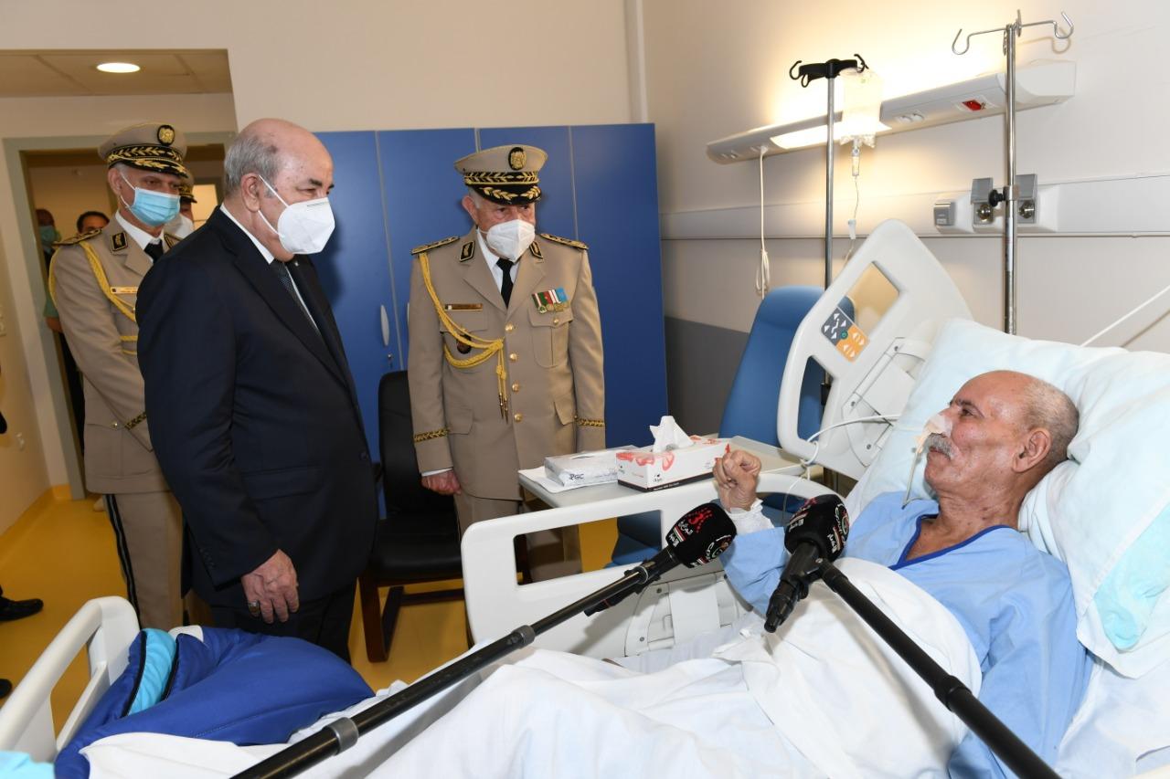 Le président Tebboune, le Général Chengriha et le tortionnaire 'Benbatouche', les 'alliés' de Madrid