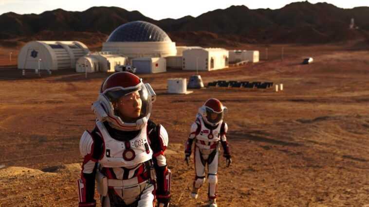 Mars : la Chine va installer sa base habitée en 2033