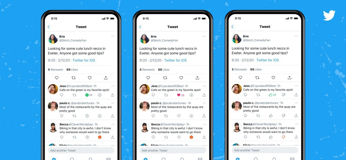 "Twitter ajoute le bouton "" Dislike"" ou "" je n'aime pas """