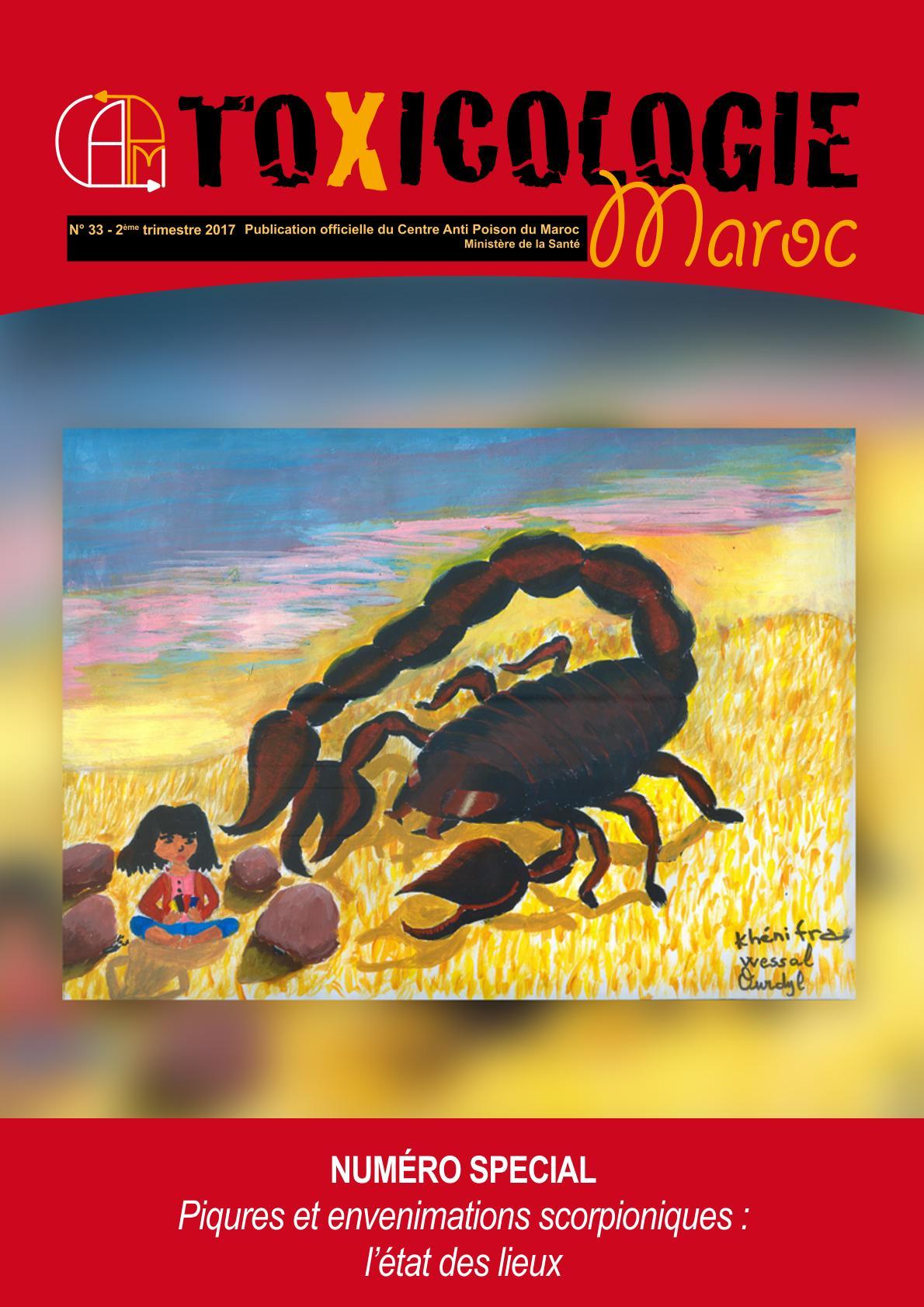 Piqûres de scorpions au Maroc: Grande vigilance en été