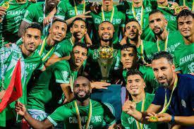 Le RAJA, champion de la CAF cette saison