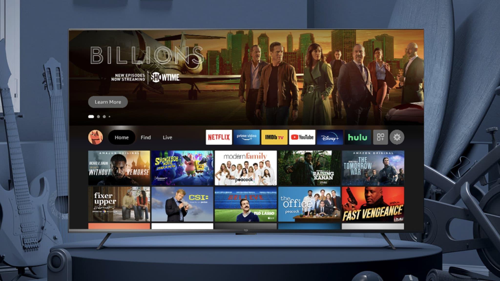 Amazon lance ses propres téléviseurs