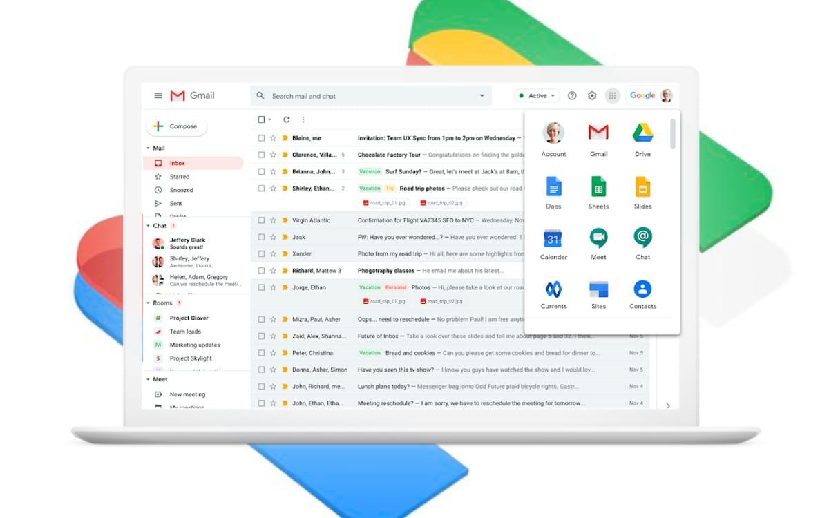 Des appels vidéo et audio désormais intégrés sur Gmail !
