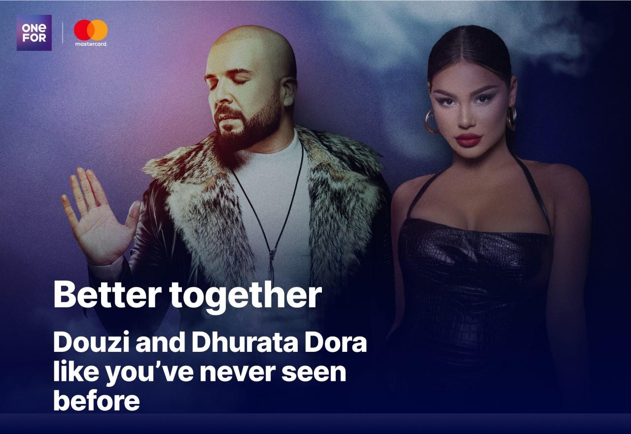 Douzi participe à des concerts interactifs et exclusifs