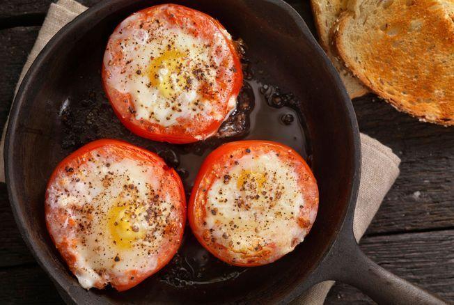 Nouvelle technique pour préparer des œufs à la poêle