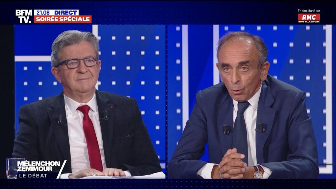 Débat Mélenchon VS Zemmour