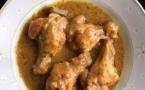 Mini pilon de poulet à la pate d'arachide