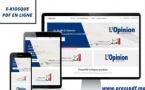 Régie Abonnements PDF L'Opinion & Alalam