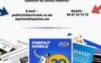 Régie Print : Encarts Publicitaires sur les quotidiens L'Opinion & Alalam