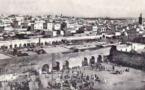 Rabat avant la construction du marché central