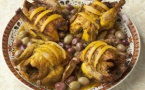 Poulet mqualli aux citrons confits