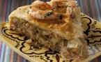 Pastilla au poisson et au vermicelle chinois
