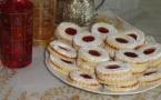 Biscuits sablés confiture