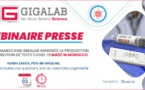 Webinaire presse : Gigalab introduit les Test… made in Morocco