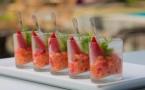 Des recettes de verrines salées pour l'été