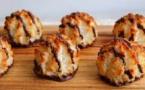 Rochers à la noix de coco et au chocolat