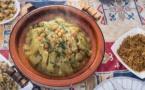 Courge « slaoui » et pommes à la tétouanaise