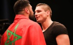 Le kick-boxeur marocain Jamal Ben Saddik et le boxeur rico verhoeven