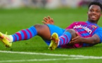 FC Barcelone: Ansu Fati blessé
