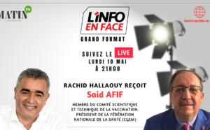 L'info en Face avec Dr Said Afif