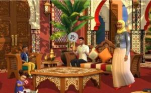 Incroyable : Le jeu Sims 4 vous apportera au Maroc avec son Kit Riad de rêve !